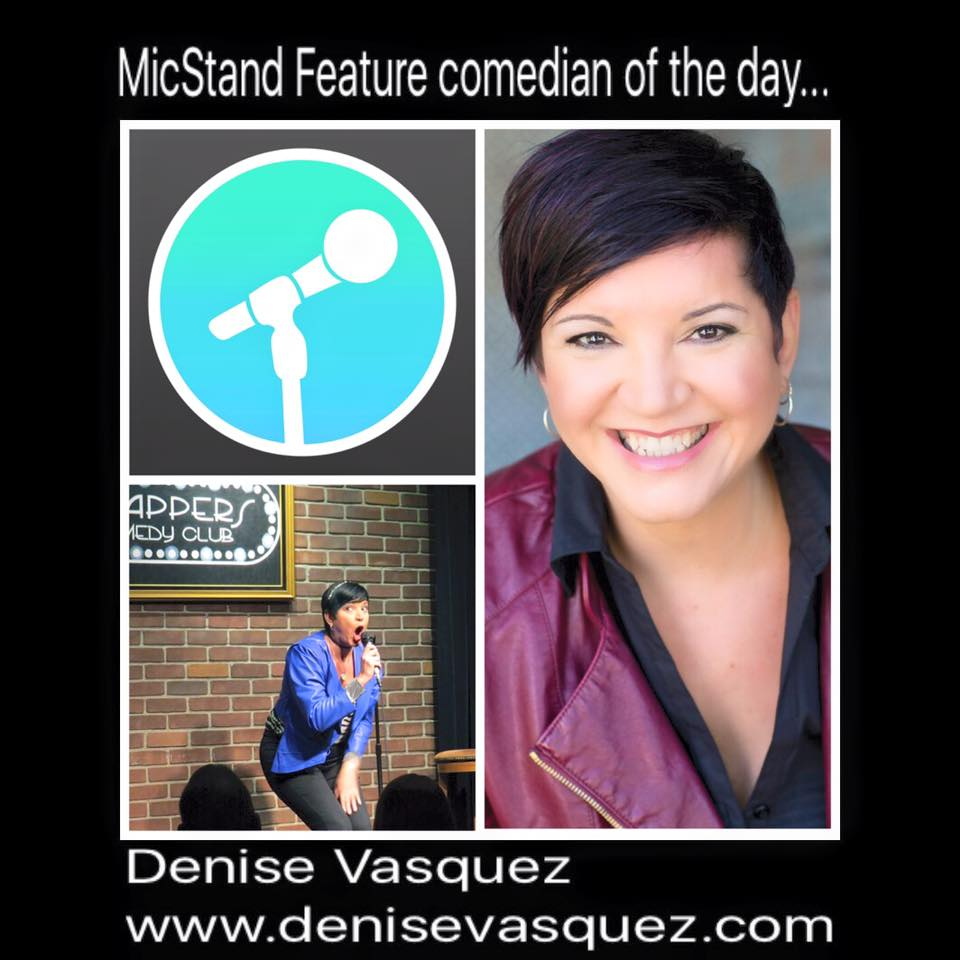 Denise Vasquez Featured On MicStand App