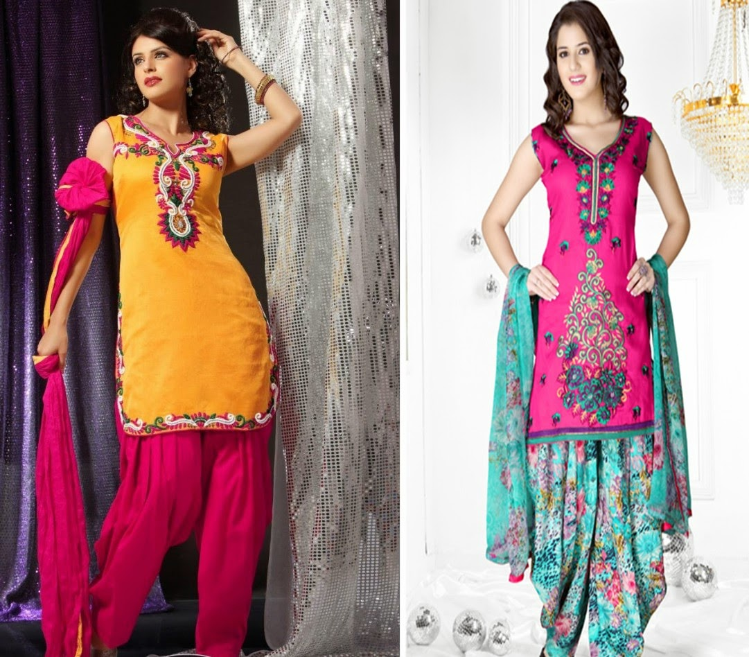 designers suits - Punjabi Suits Hand Work Designed