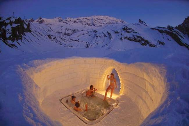 These are 13 of the coolest igloos from around the world for Vacation in the snow