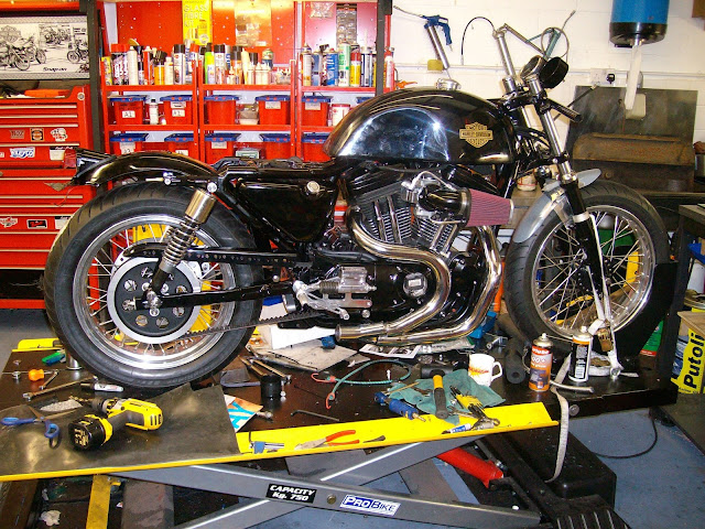 Buell Cafe Racer | Buell Lightning Cafe racer | Buell cafe racer for sale | Buell cafe racer parts | By Rocky's motorcycles