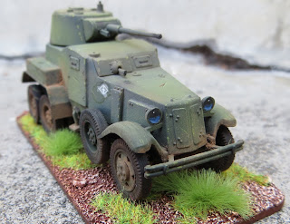UM Models Soviet BA-10 Battlegroup Kursk 1/72