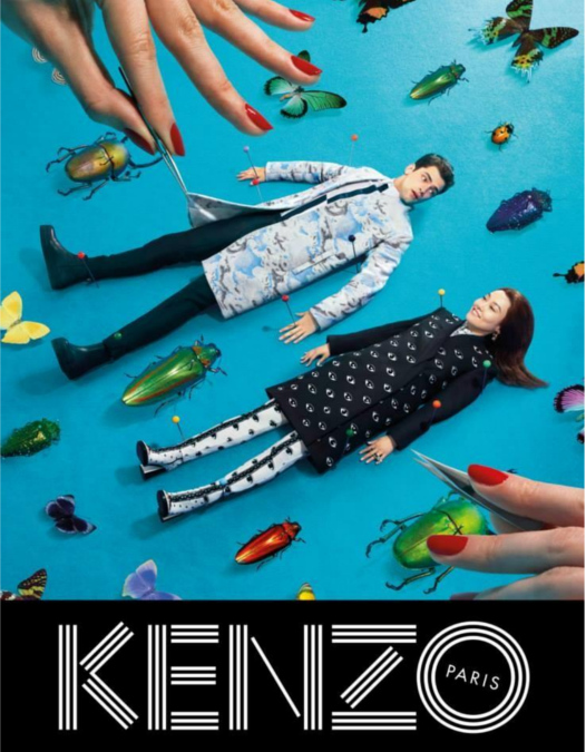 Kenzo Fall/Winter 2013 Campaign with sean o'pry
