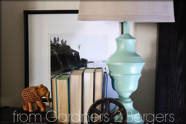 from gardners 2 bergers how to paint brass lamps. Black Bedroom Furniture Sets. Home Design Ideas