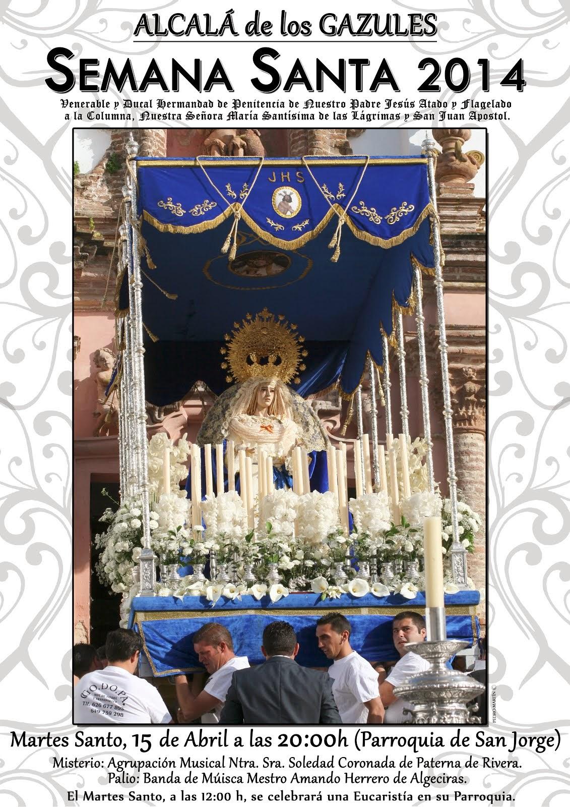 SEMANA SANTA 2014 - ALCALÁ DE LOS GAZULES