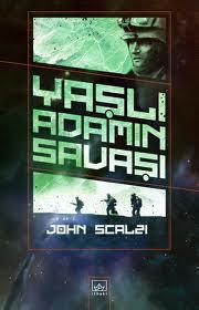 Yaşlı adamın savaşı kitap kapağı
