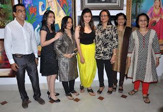 Alia Bhatt Launch Art Exhibition SPLASSH