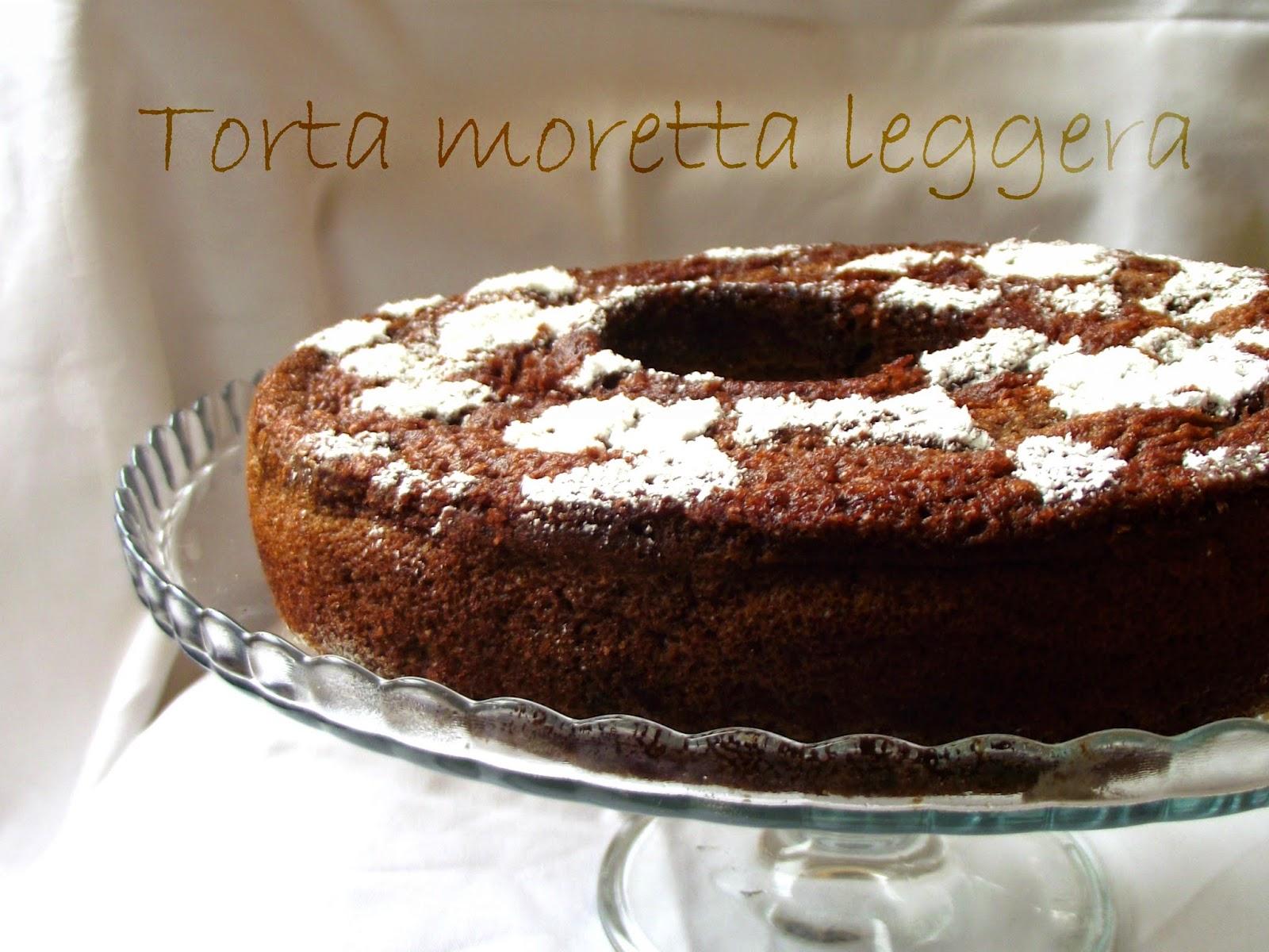 la torta moretta leggera e le fiabe a modo mio