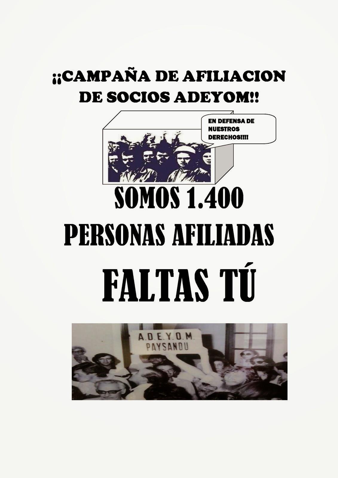 SÚMATE A ESTA CAMPAÑA