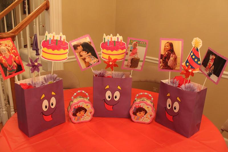 Keeping up with the Kiddos Avas Dora the Explorer Birthday Party