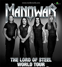 Manowar Lord Of Steel World Tour Live
