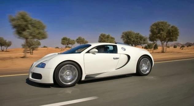 cho thuê xe siêu xe Bugatti Veyron với giá nửa tỷ đồng 1 ngày
