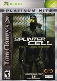 Tom Clancy's Splinter Cell platinum hits (Xbox, 2002) original xbox softmod kit