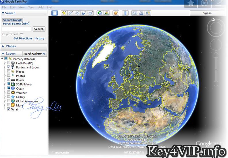 GoogleEarthPro.7.1.5.1557 Full Key,Phần mềm Khám phá vũ trụ bao la từ máy tính