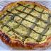 Torta salata con asparagi tonno e ricotta
