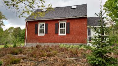 Writer's 1840 one room schoolhouse.