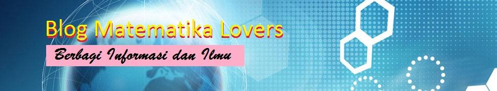 Blog Matematika Lover