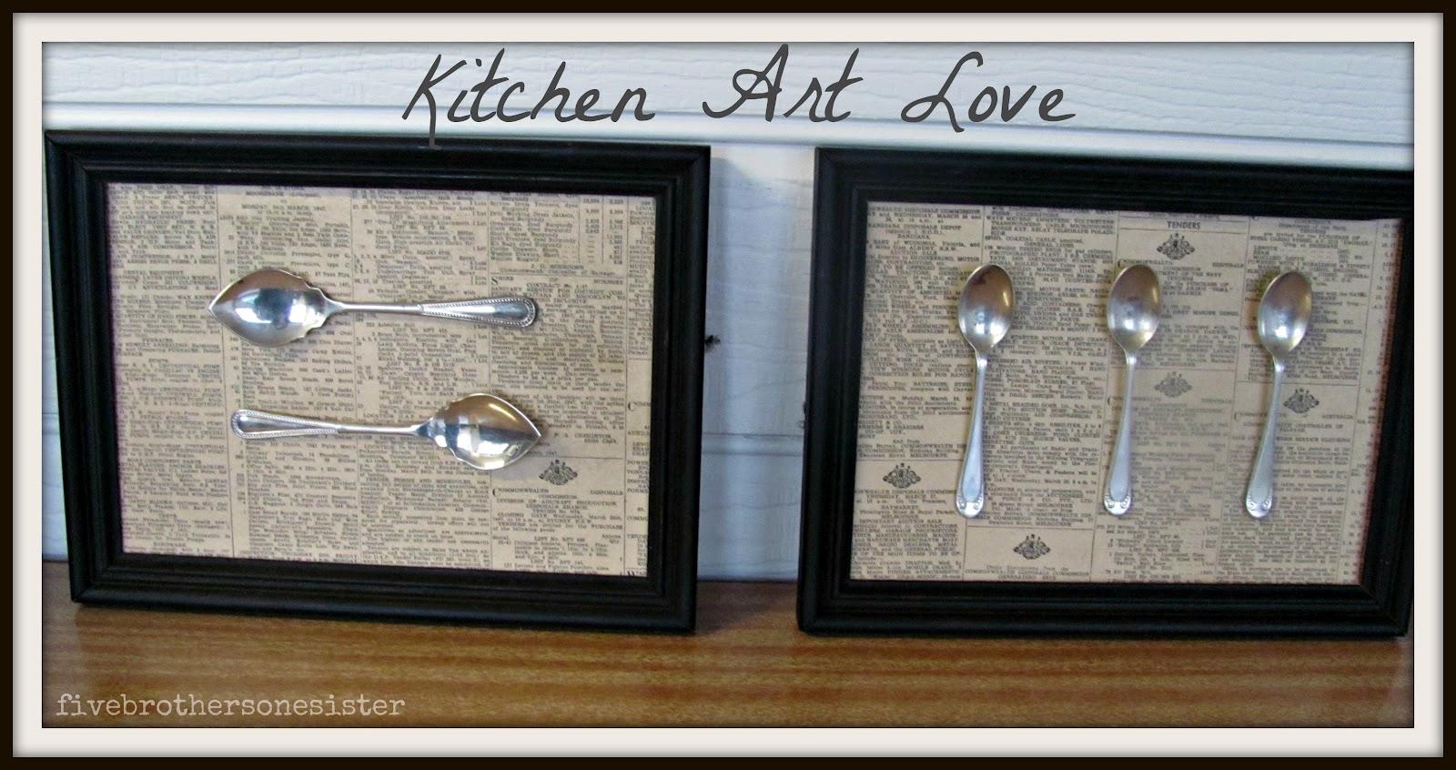 Update Kitchen Art