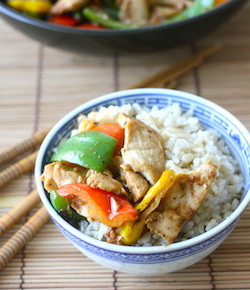 Miso Chicken Stir Fry recipe by seasonwithspice.com