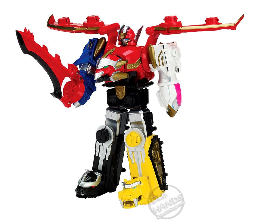 Idle hands toy fair 2013 power rangers megaforce - Robot power rangers megaforce ...