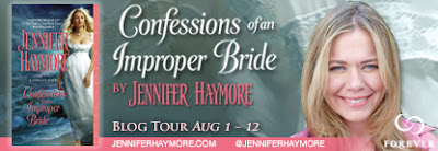 BOOK FEATURE + GIVEAWAY – CONFESSIONS OF AN IMPROPER BRIDE BY JENNIFER HAYMORE