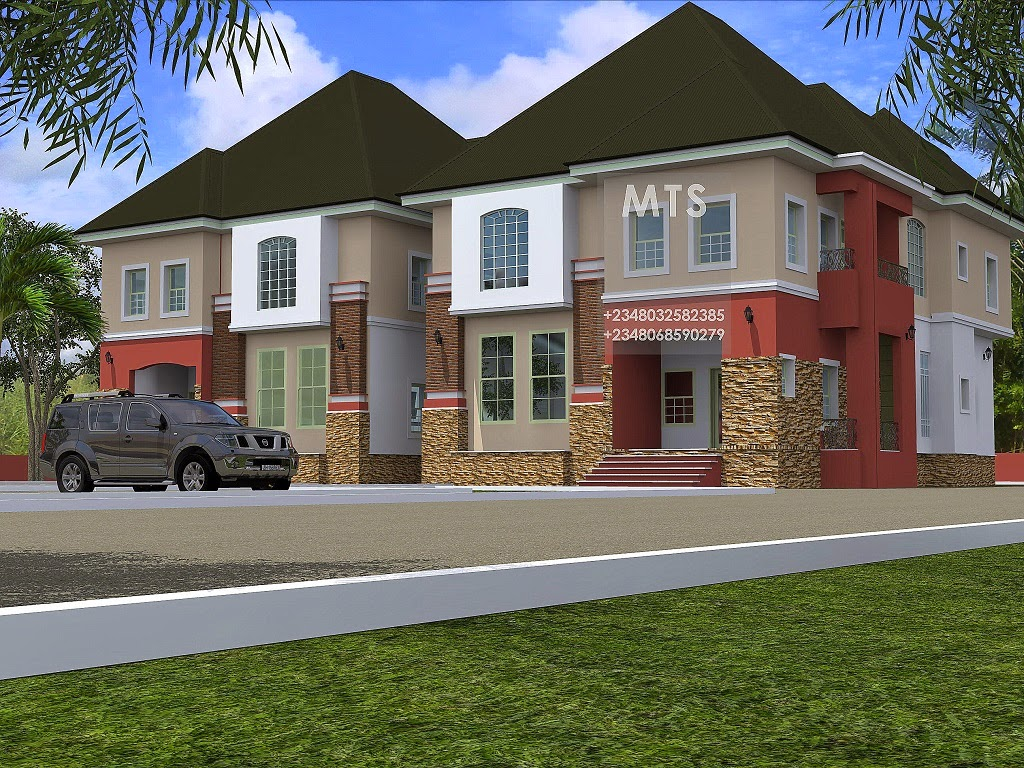 Mr christopher 4 bedroom twin duplex residential homes for 4 bedroom duplex design