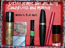 SORTEO EN CANDYFLOSS AND MAKEUP  BLOG