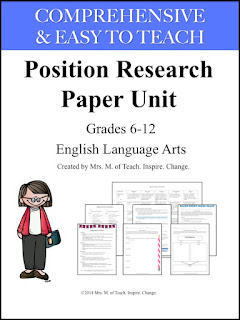 basic steps research paper