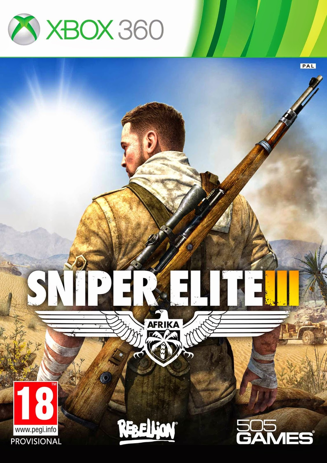 Sniper Elite III X360 Small Download   Jogo Sniper Elite III XBOX360 COMPLEX (2014)