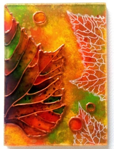 Whoopidooings: ATC Swap - Autumnal ATC/ACEO by Ottilia Cormas