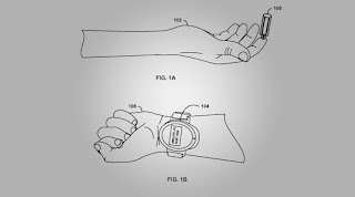 google blood collecting smartwatch