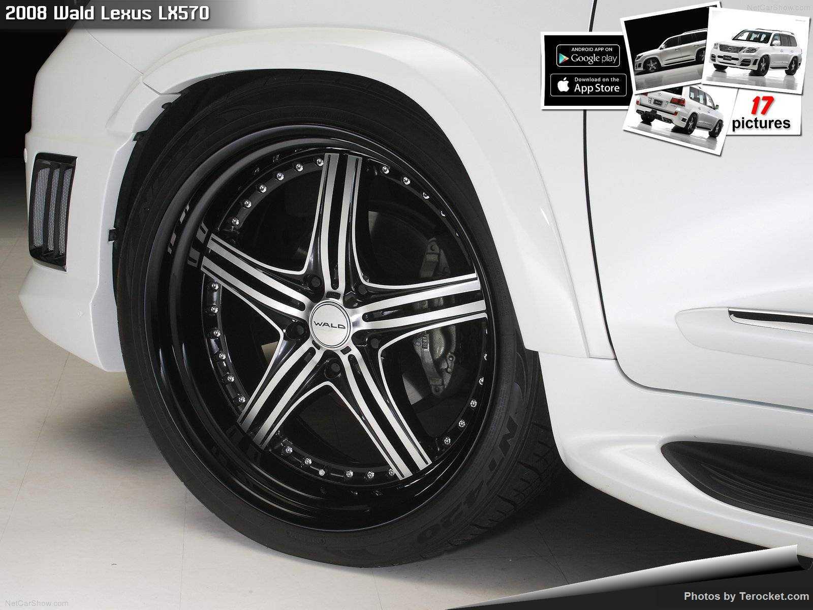 Hình ảnh xe độ Wald Lexus LX570 2008 & nội ngoại thất