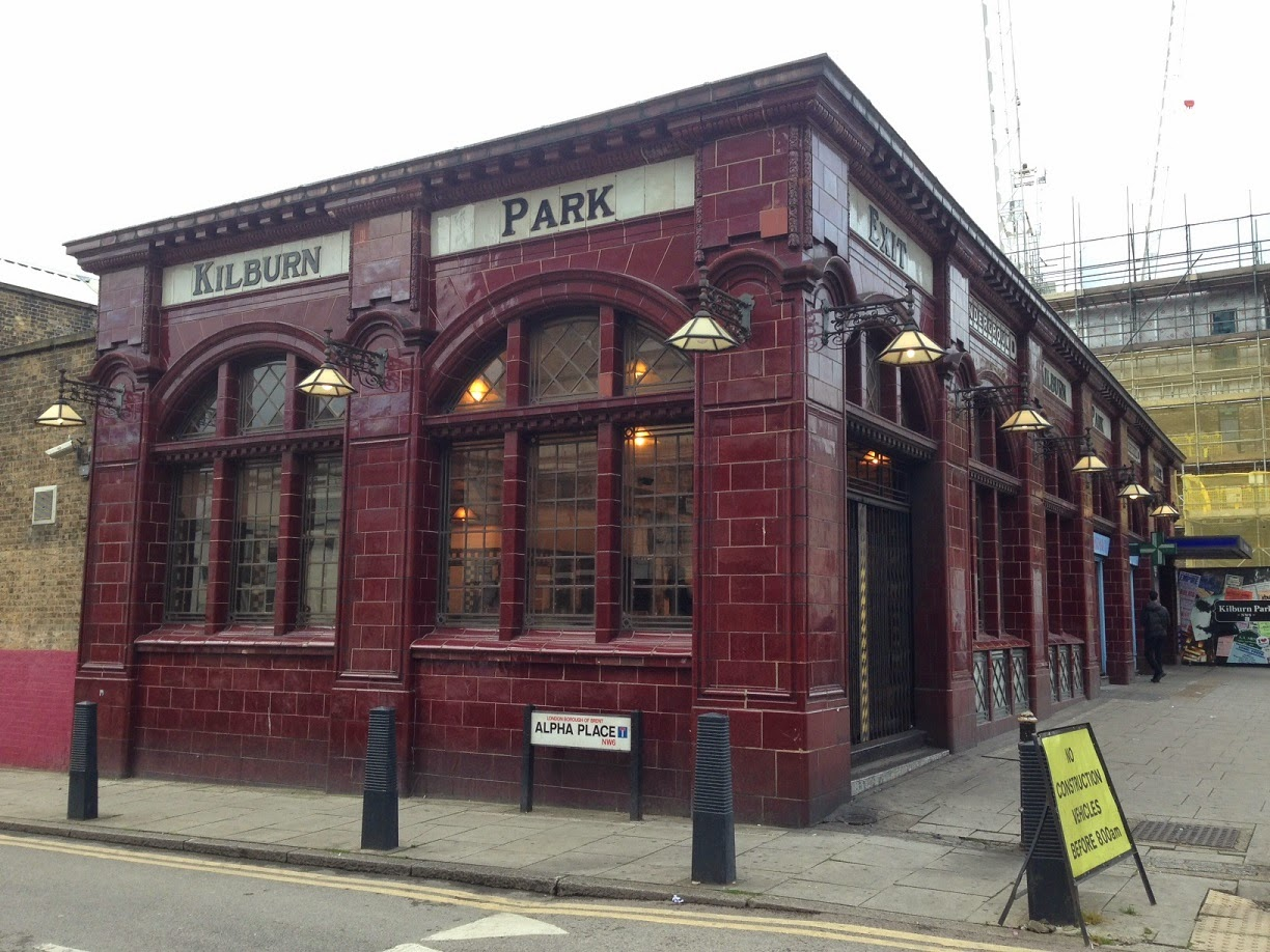 Kilburn Park tube station, London