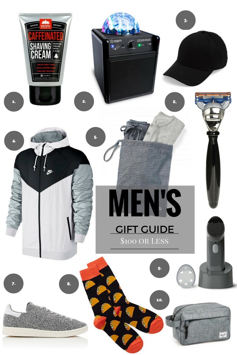 gift guide: last minute gifts for him $100 or less - with love rochelle