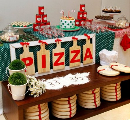 Party Frosting Kid 39 S Pizza Party Inspiration Ideas