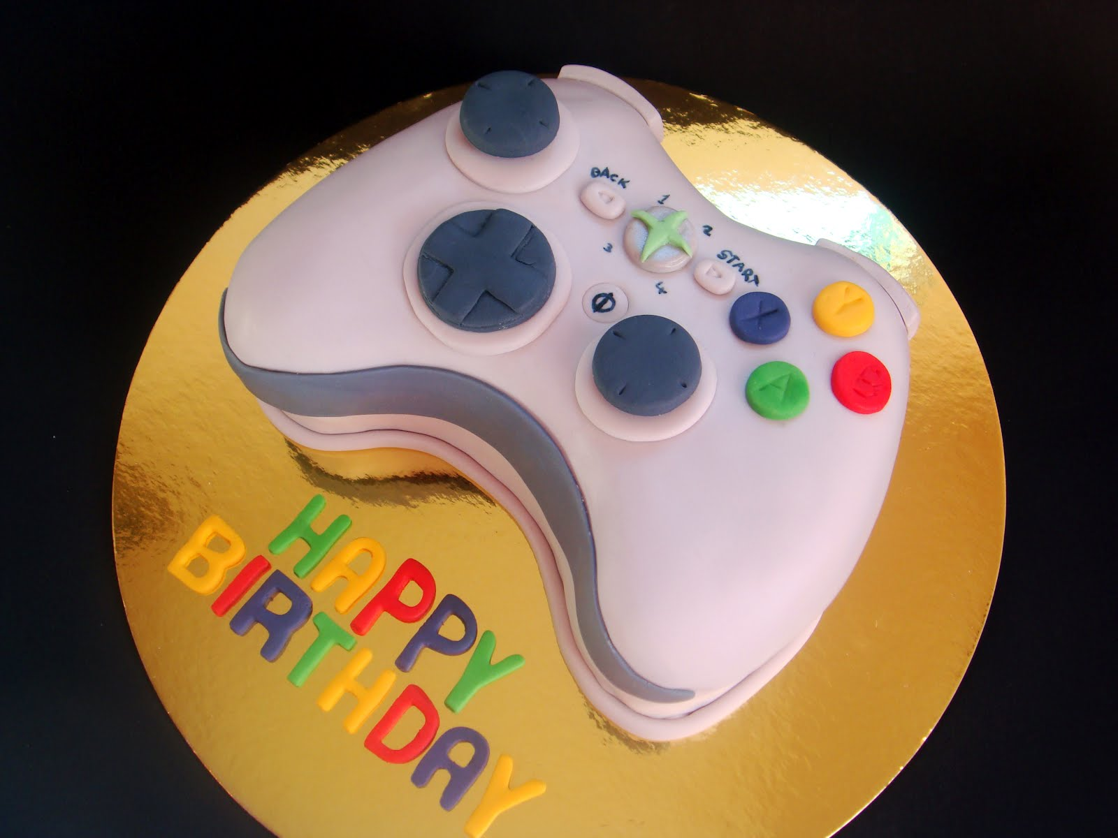 butter hearts sugar Xbox Cake