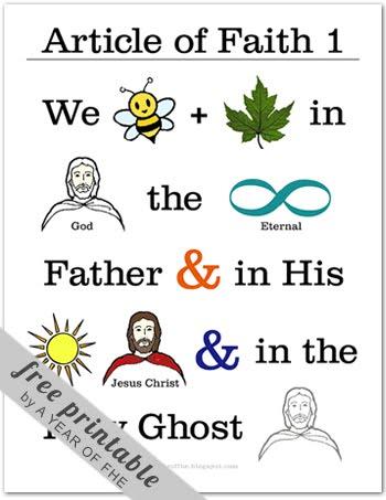 talk on articles of faith
