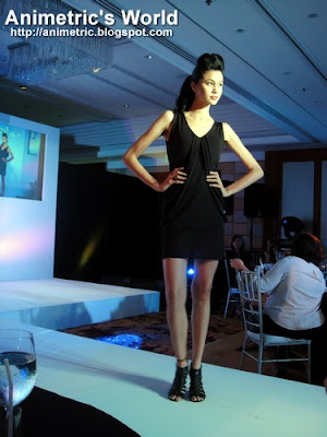 Fashion show at Rexona Crystal Launch