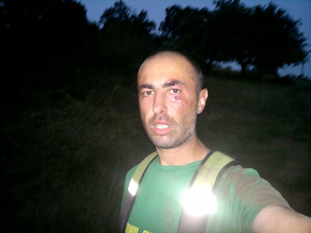 Cum m-am pus în cap în zona Şiria, judeţul Arad. Selfie cu lovitura