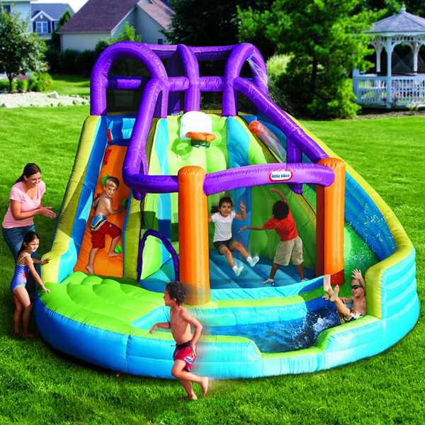 Inflatable Water Slides Little Tikes 2 In 1 Wet N Dry