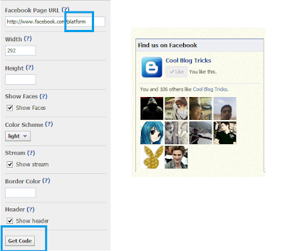 How To Add Facebook Like Box To Blogger And Wordpress