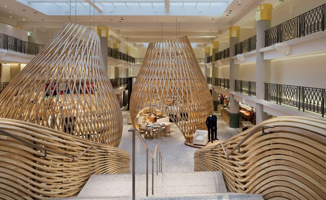 thoughts  architecture  urbanism hermes rive gauches interior design paris