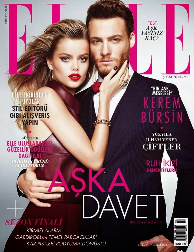 Model: Frida Aasen & Kerem Bursin for Elle Turkey