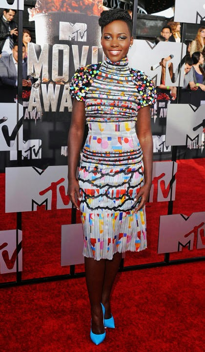 Lupita, Rihanna Best Worst Dressed at MTV Movie Awards