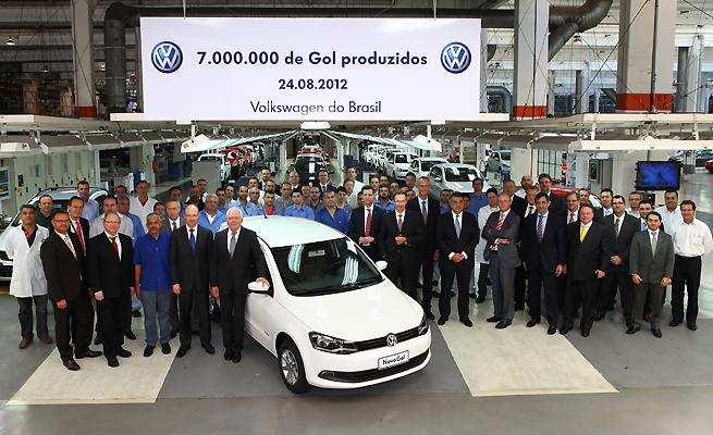 Volkswagen celebra los 7 millones de Gol fabricados