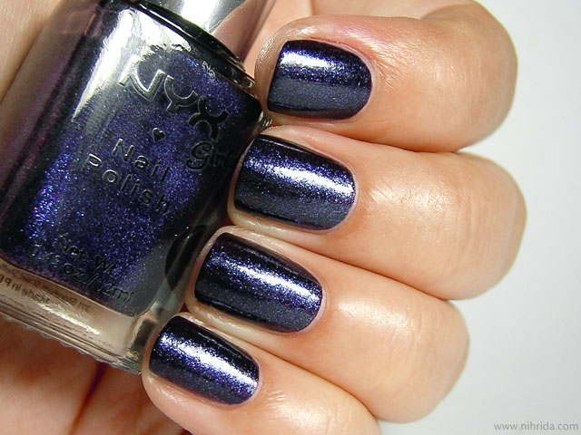 NYX Girls Nail Polish in Royal Purple