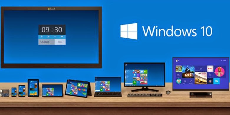 Ilustrasi Windows 10 - 1