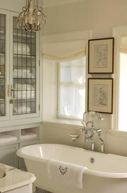 Cheap home decors shabby chic bathrooms for Elegant small bathrooms