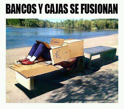 La basque bondissante fusiones de bancos y cajas for Bancos y cajas con clausula suelo