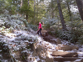 The Trail Effect: Snow on the Grouse Grind