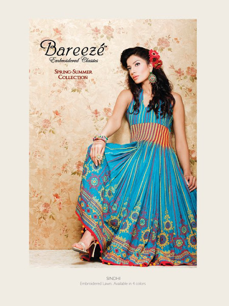 Bareeze Embroidered Classics Spring/Summer Collection 2012id=